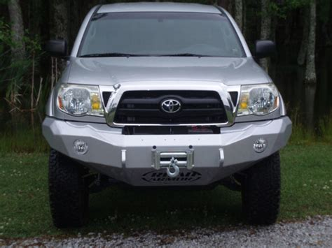 2006 Toyota Tacoma Rear Bumper Road Armor Stealth Winch Front Bumper For 2006 2011 Tacoma