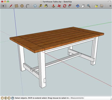 see the farmhouse kitchen table plans desk project