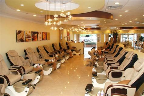Nail Salon by Nail Spa Interior Design Studio Design Gallery