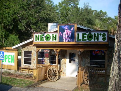 Neon Len by Neon S Zydeco Steak House Homosassa Menu Prices