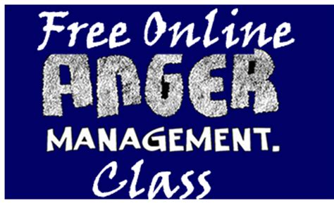 Anger Management Class Online | free anger classes new hope