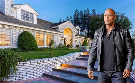 dwayne the rock johnson house address dwayne johnson s house in hidden hills the rock youtube