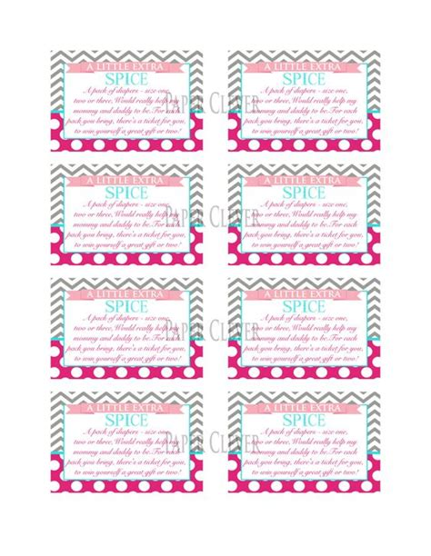 printable bridal shower raffle tickets pinterest the world s catalog of ideas
