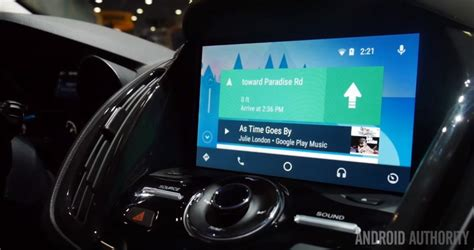 ford sync apps android look at android auto in ford cars at ces 2016 android authority