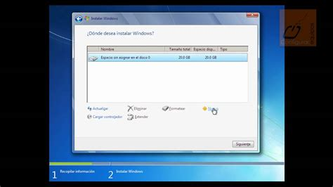 imagenes instalacion windows 10 instalar windows 7 youtube