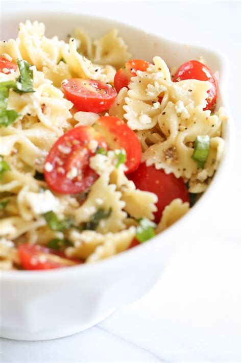 easy summer pasta salad recipe the perfect side for bbq nom nom nom pinterest pasta