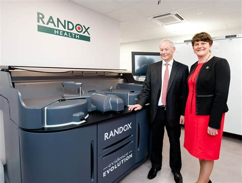 randox health randox health launches clinic roll out with official