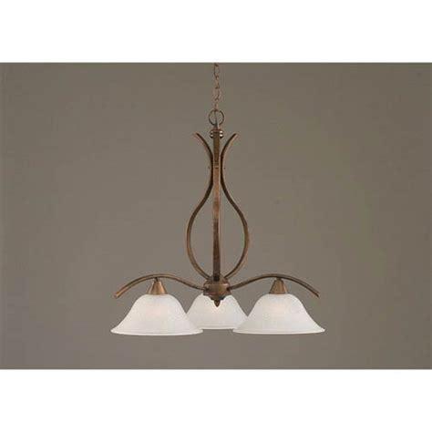 three light chandelier downlight toltec lighting swoop bronze downlight three light