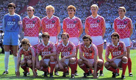 John Barns Fritz The Flood Euro Cup 1988 Group B England Ussr