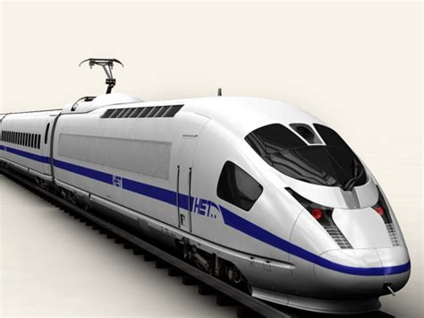 3d model generic high speed train 25417