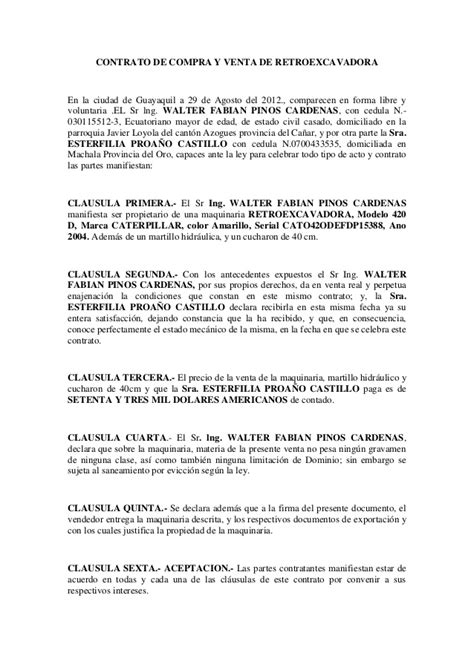Contratos Compraventa Contratos Civil Contratos Contratos