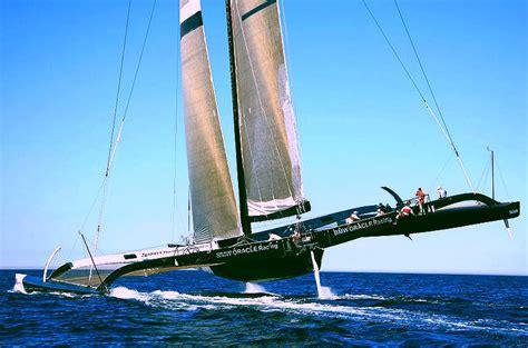 oracle hydrofoil boat trimarans