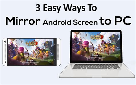 how to mirror android to apple tv 3 ways for mirroring android screen to pc and mac