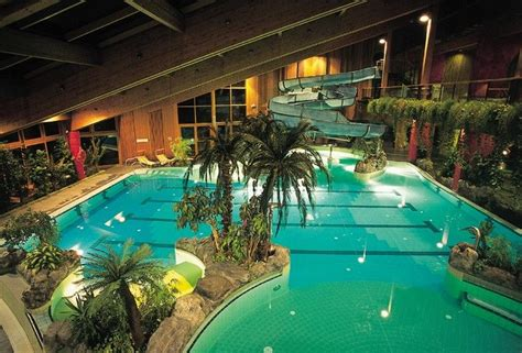 indoor schwimmbad house with indoor water slide naturno s swimming pool