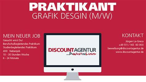 Praktikum Bewerbung Werbeagentur Werbagentur Discountagentur Werbung Aus Hannover Discount Werbung Marketing