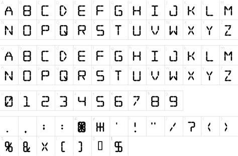 Printable Digital Font | digital dream font 1001 free fonts