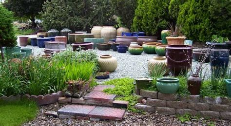 Garden Pottery Margie S Rv Park Garden Pottery Water Bowls Riverside