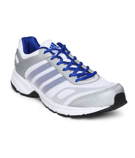 adidas white meshtextile running sport shoes price in