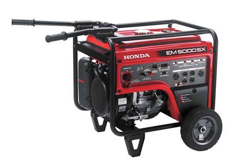 honda em5000s home generator 5000 watt home backup