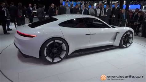 Porsche Elektroauto by Elektroauto Porsche Mission E Iaa 2015