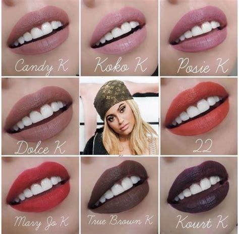 Lip Kit In Dolce K lip kit by jenner dolce k kourt k k posie