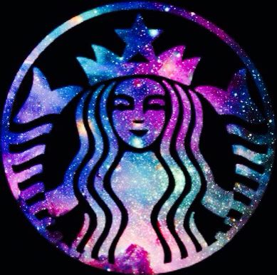 Starbucks Galaxy by Galaxy Starbucks By Lorenza Peri Whi