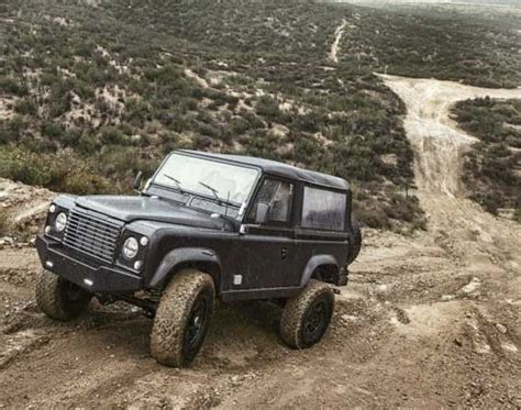 old land rover truck custom land rover defender is updated version of the