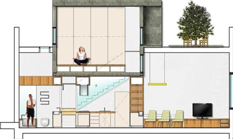 home designer pro cross section home for he she it loft home interior design on behance