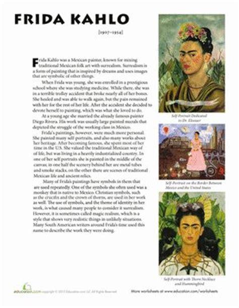 best biography frida kahlo 232 best images about sub plans on pinterest spanish