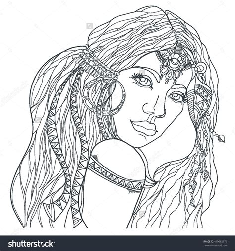 coloring hair hair coloring pages gallery free coloring books