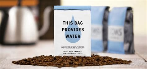 Takes Toms by Toms Wins Water Partner Takes On Coffee Business