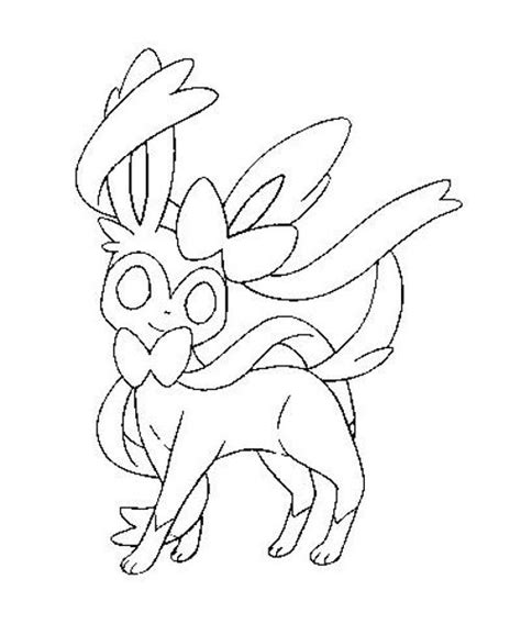 pokemon coloring pages sylveon sylveon pokemon coloring pages