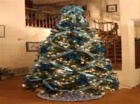 decoracion de arbol de navidad con cintas decoraci 243 n de 225 rboles de navidad con la cinta