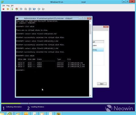 install windows 10 vhd guide how to install windows 10 using vhds neowin