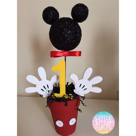 Mickey Mouse Centerpieces 1st Birthday Centerpieces For Mickey Mouse Birthday
