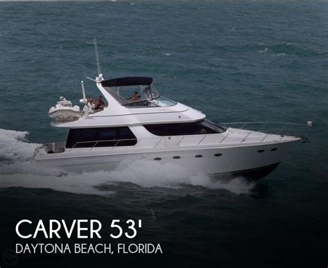 used boats for sale daytona beach florida for sale used 1998 carver 530 voyager pilothouse in
