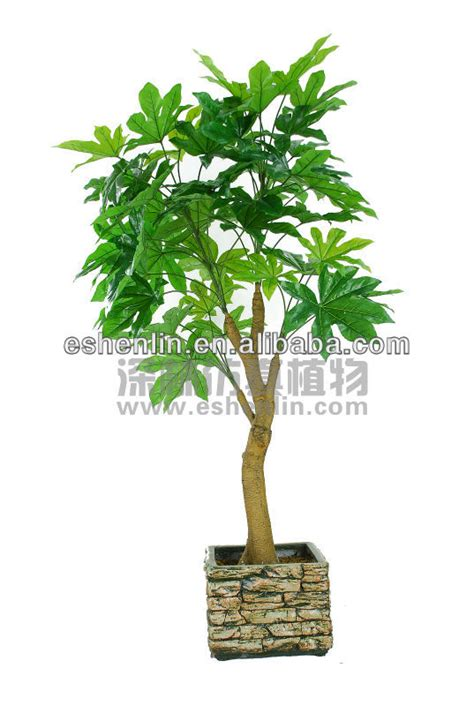 indoor japanese plants high imitation artificial japanese fatsia plant artificial