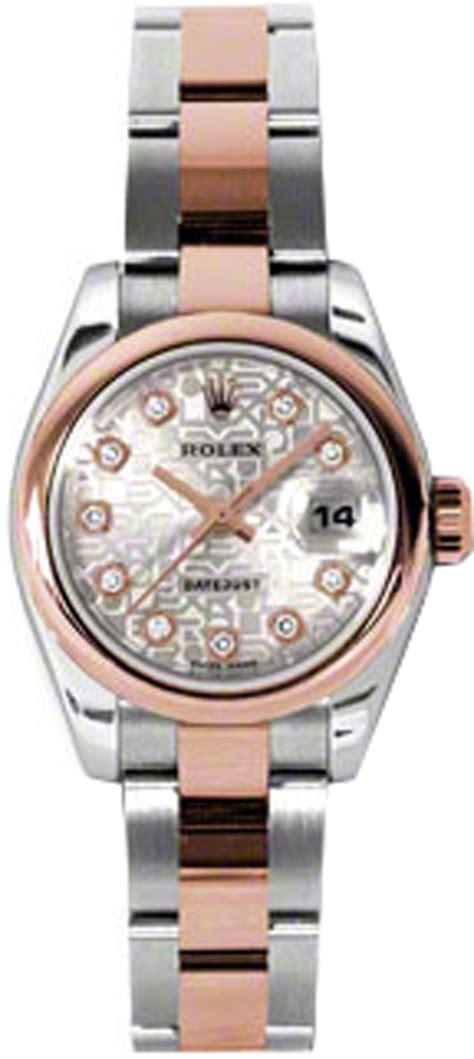 179161 rolex datejust silver