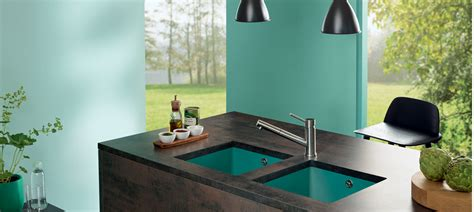 Ceramic Arbeitsplatte by Ceramic Sinks For More Colour Variety In Kitchen Designs