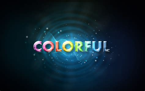 Photoshop Cs3 Glow Effect Tutorial | colorful glow text effects photoshop tutorials