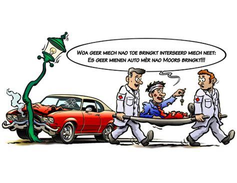 Car Accident: Funny Car Accident Cartoon