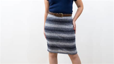 diy knit skirt how to sew a knit pencil skirt pattern and assembly my