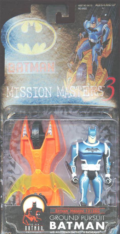 Batman Mission Masters 3 Assault the new batman adventures ground pursuit batman