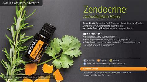 Essential Oils For Liver Detox Doterra by Zendocrine Doterra Essential Oils