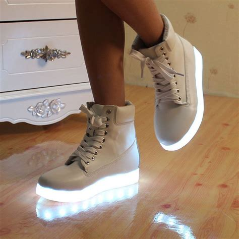 2016 Sneaker Casual M2m23 0155 stock item light up shoes chaussure a led 8 couleur led