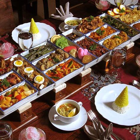 Iconic Indonesia Cookbook recipes combined the and watering rice table indo food