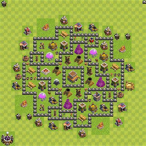 layout vila nivel 8 clash of clans layout de defesa clash of clans n 237 vel da centro de vila