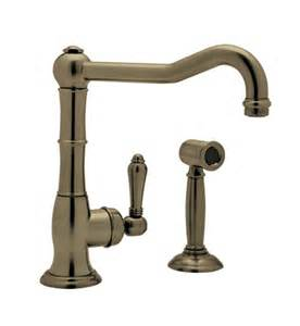 Rohl Kitchen Faucets Reviews Rohl A3650ws Country Kitchen Faucet With Sidespray