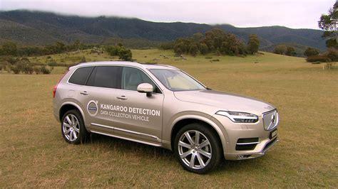 volvo cars begins   australian tests  kangaroo safety research volvo car group