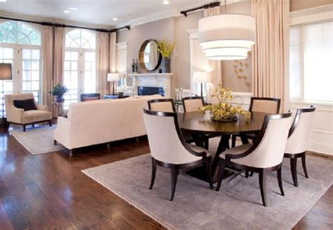 Small Living Room With Dining Table Fabulous Pendant L And Dining Table For Combination Living And Dining Room
